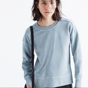 Madewell Shuffle crewneck sweatshirt EUC XS